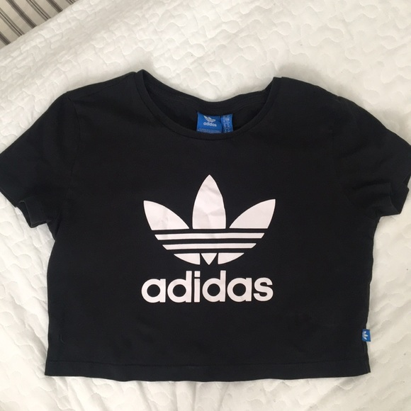 adidas crop top shirt